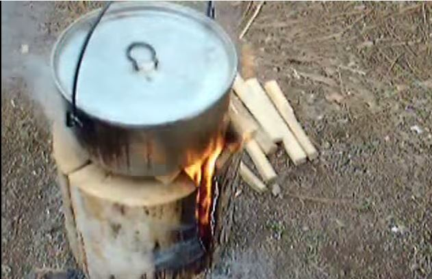 how to make a fire torch